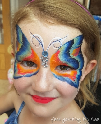 birthday party face painting Newport