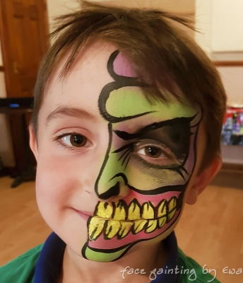 face painting monster Telford