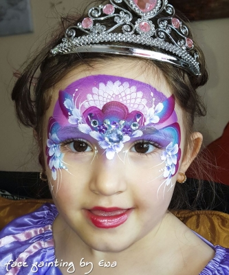 princess face painting Telford