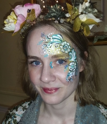 wedding adult face paint Market Drayton